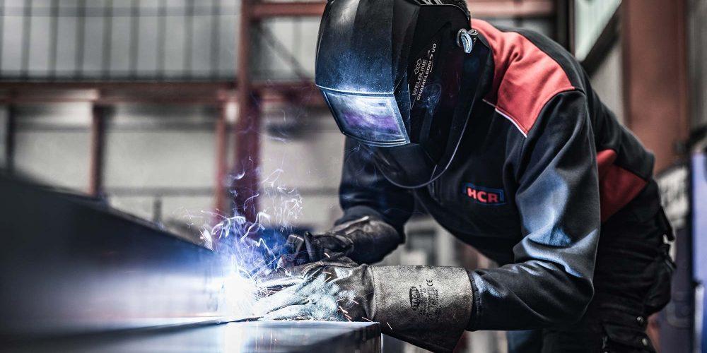 Fertigung von Maschinenschutz bei HCR