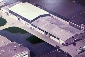 Altes Firmengebäude von HCR
